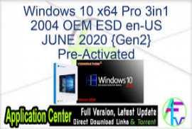 Windows 10 X86 2004 10in1 OEM ESD en-US MAY 2020 {Gen2}